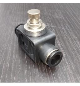 Кран игольчатый «Push» тонкой настройки, 10 мм