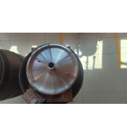 """Крышка для котла 25л с врезкой 1.5"""" толщина 1.2мм диаметр 35см"""